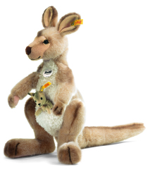 Känguru Kango med baby